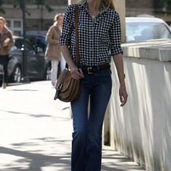 Sokak mosı en güzel flare pantolon kombinleri