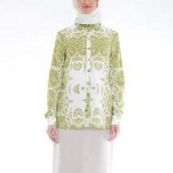 Yeşil renkli ve desenli Armine gömlek modelleri 2015