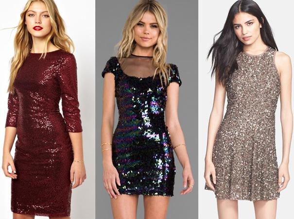 Yeni sezon payetli elbise modelleri 2015