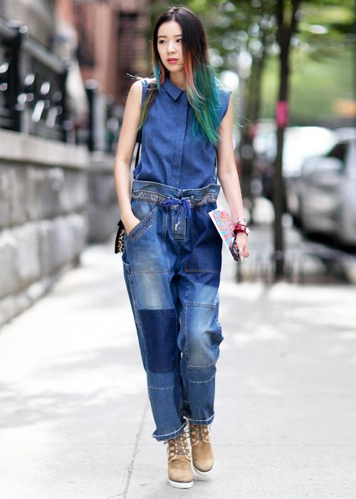 Sokak Modası Yazlık Kot Pantolon Modelleri