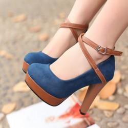 Çok zarif süet bayan ayakkabı modeli