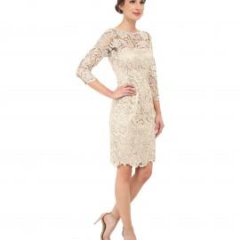 İşlemeli Kollu En Güzel Elbiseler