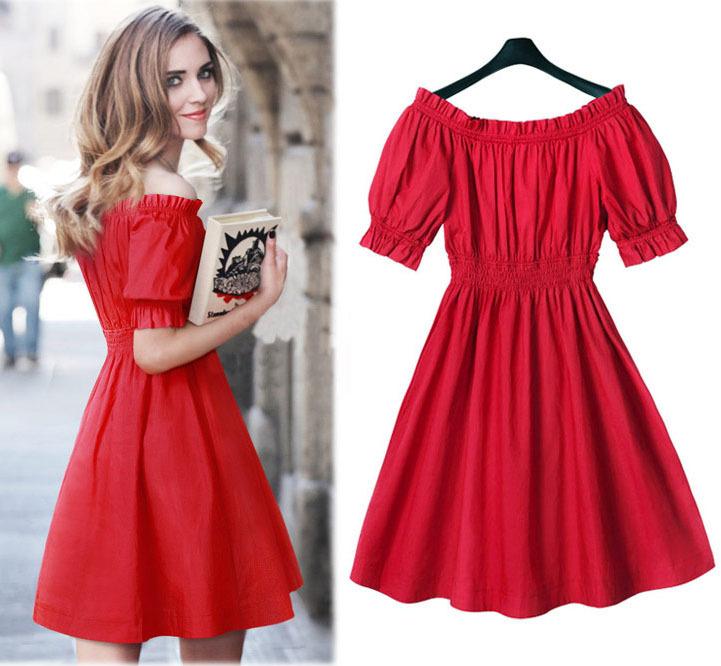Bayanların Vazgeçilmezi Olan Kırmızı Elbiseler ve Kombinleri