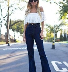 En Yeni Yüksek Bel Bol Paça Pantolon Modelleri
