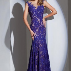 En güzel Geceler İçin En Güzel Güpürlü Elbise Modeli