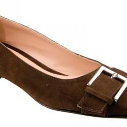 En zarif bayan süet ayakkabı modeli