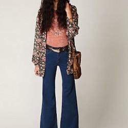 Kemer Detaylı Yüksek Bel Bol Paça Pantolon Modelleri