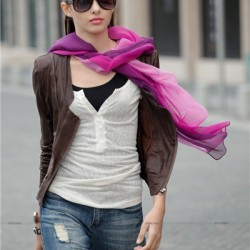 Sokak Modası Bayan Fular Modelleri