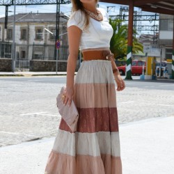 Sokak Modasından Uzun Etek Kombin Seçenekleri