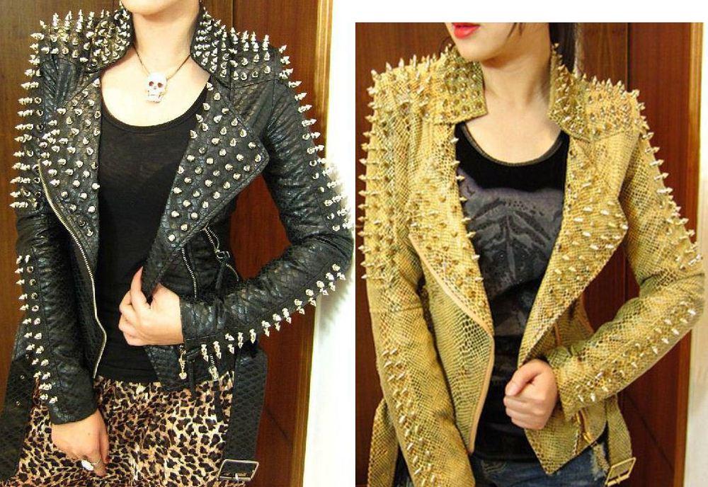 En Tarz Bayan Zımbalı Ceket Modelleri