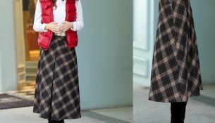Kışlık Etek Nasıl Giyilir Sorusuna Güzel Bir Seçenek