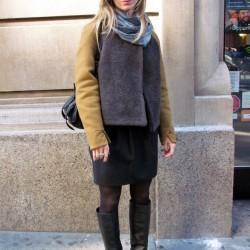 Sokak Modası Kışlık Etek Modelleri