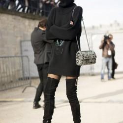 Uzun Çizme Modeli İle Sonbahar Modası