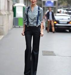 Askılı Pantolonlar Bayan