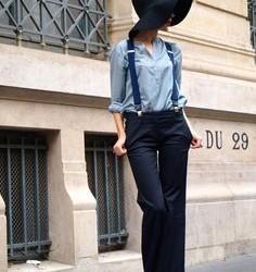 En Güzel Askılı Bayan Pantolon Modelleri
