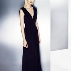 En Güzel Saks Mavisi Elbise Modelleri