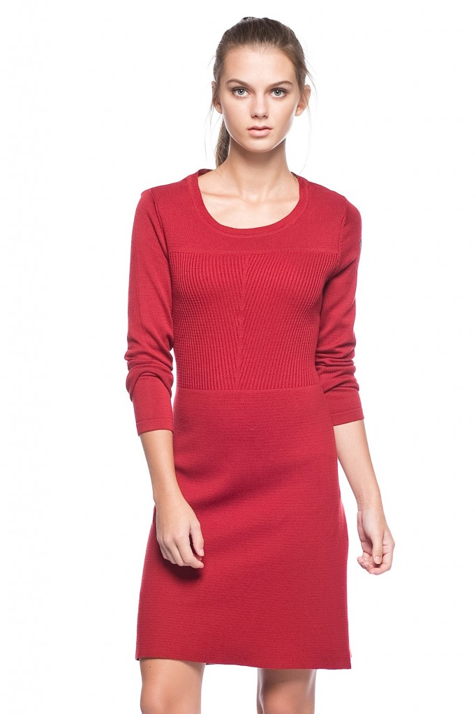 Kırmızı Renkli Polo Elbise Modelleri