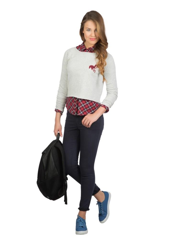 Lacivert Renkli Colin's Bayan Kot Pantolon Modelleri