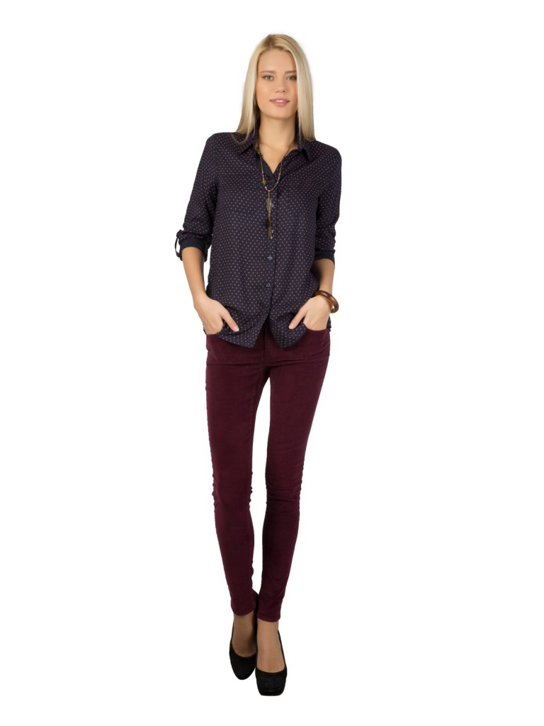 Mor Renkli Colin's Bayan Pantolon Modeli
