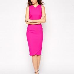 Neon Pembe Elbise Modelleri
