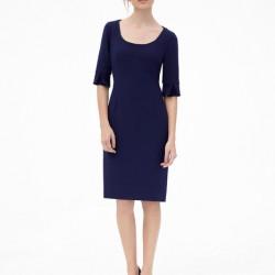 Saks Mavisi Elbise Modelleri 2016