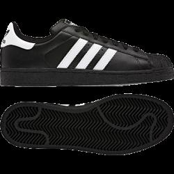 Siyah Renkli Adidas Düz Taban Ayakkabı Modelleri