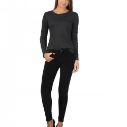 Siyah Renkli Colin's Bayan Kot Pantolon Modeli