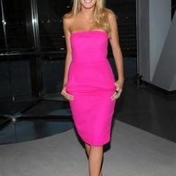 Yeni Sezon Neon Pembe Elbise Modelleri