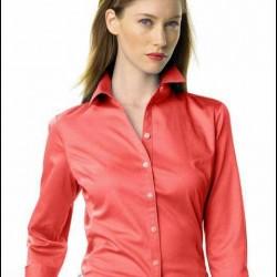 Yeni Trend Bayan Kırmızı Gömlek Modelleri
