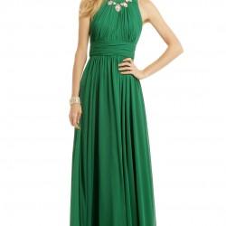 Zümrüt Yeşili Elbise Kombinleri