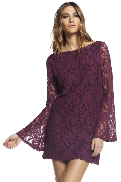 2016 Renkli Dantelli Elbise Modelleri
