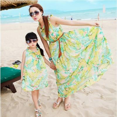 En Şık Anne Kız Elbise İkilileri