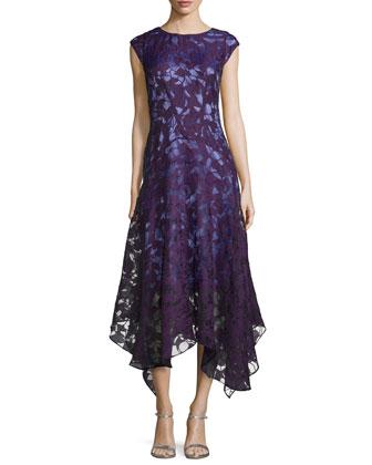 En Tarz Dantel İşlemeli Elbise Modelleri