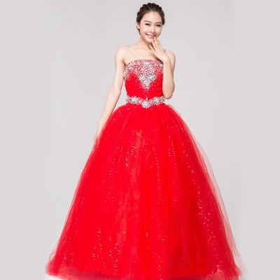 En Yeni Gösterişli Balo Elbise Modelleri