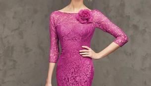 Renkli Dantelli Elbise Modelleri 2016