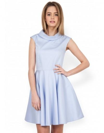 Sıfır Kol Kloş Elbise Modeli