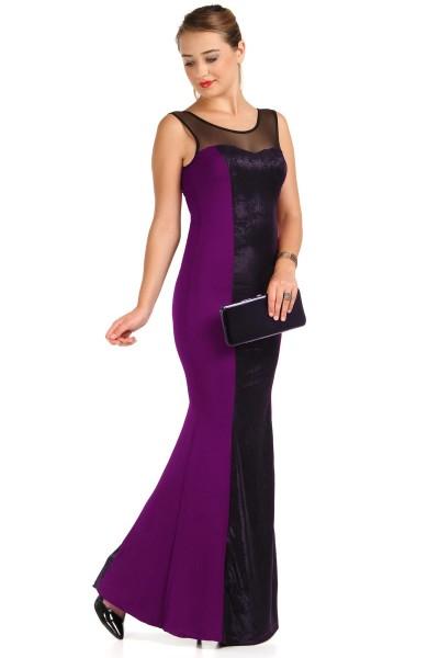 İki Renk Patırtı Giyim Abiye Modeli