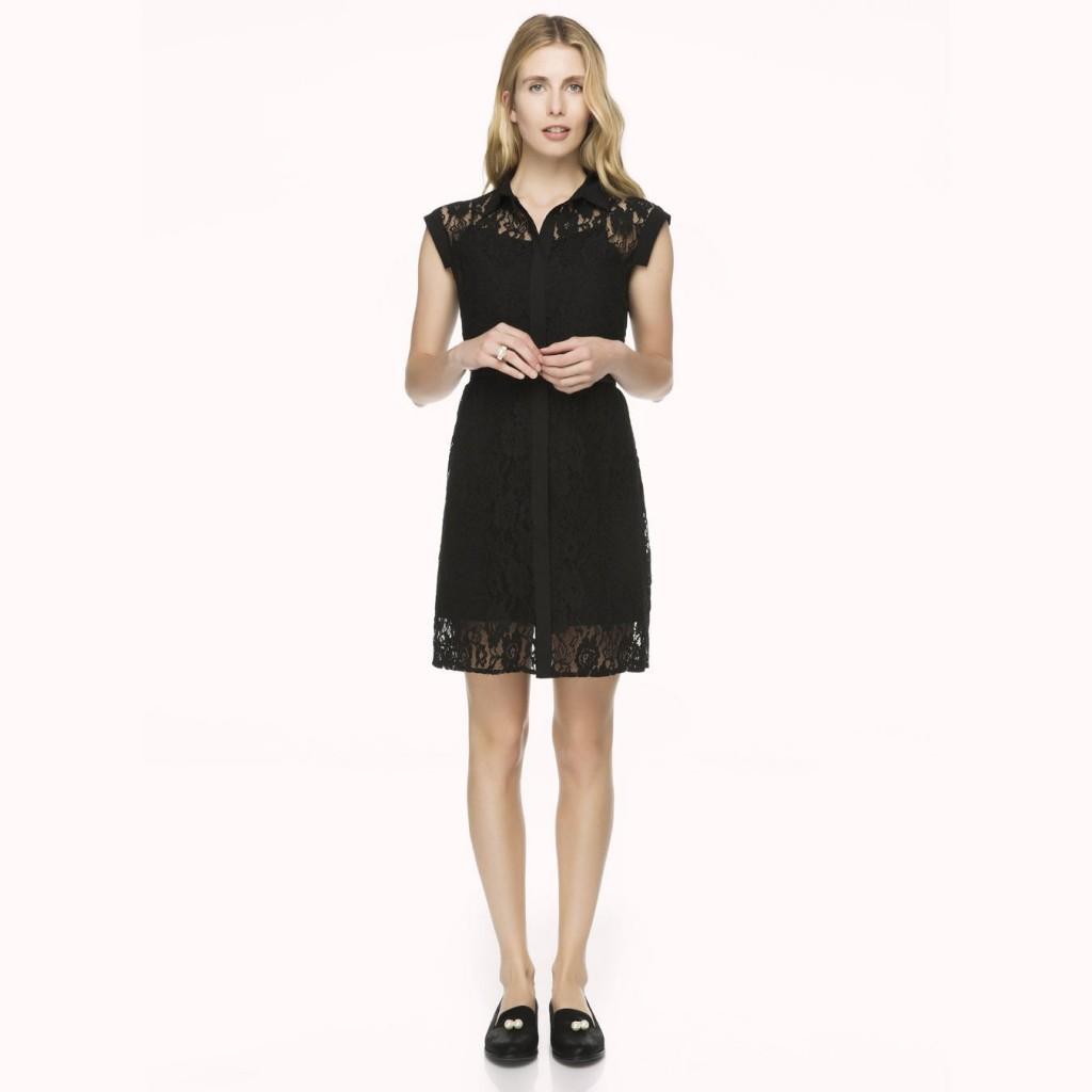 Dantel İşlemeli İpekyol Elbise Modelleri