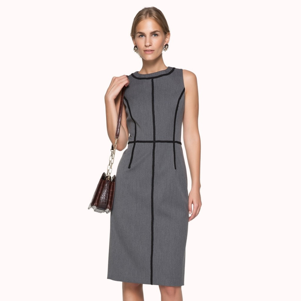 Dantel Şeritli İpekyol Elbise Modeli