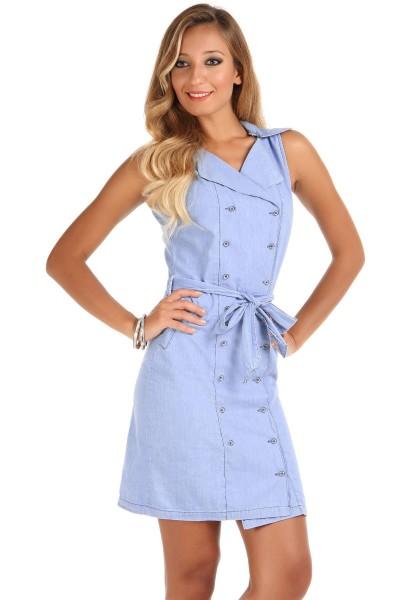 En Güzel Patırtı Kot Elbise Modelleri