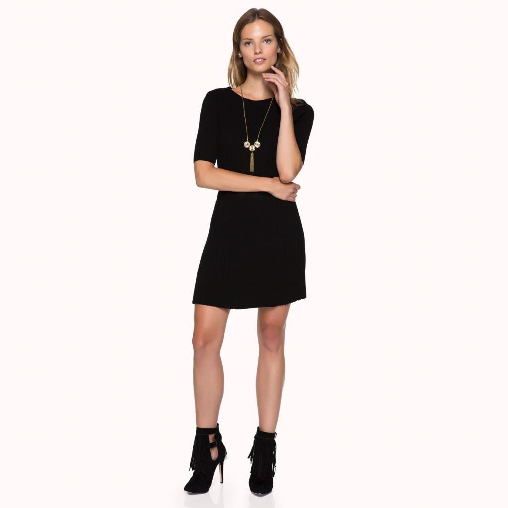 Eteği Volanlı Oldukça Şık İpekyol Elbise Modelleri