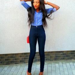 Yüksek Bel Genç Pantolon Modelleri
