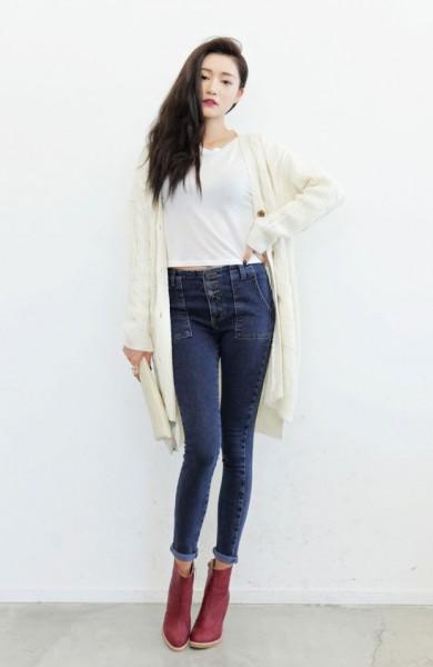 Yüksek Bel Pantolon Modası 2016
