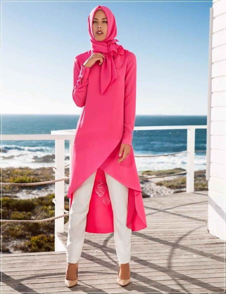 Yen, Sezon Tesettür Tunik Elbise Modelleri