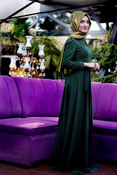 En Güzel Patırtı Tesettür Elbise Modelleri 2016