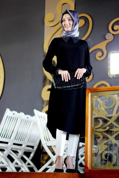 En Yeni Patırtı Giyim Tesettür Tunik Elbise Modelleri 2016