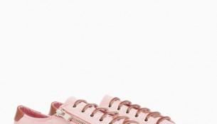 Pembe Renkli Yandan Fermuarlı Stradivarius Spor Ayakkabı Modelleri
