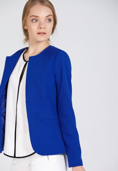 Saks Mavisi Çok Şık adL Ceket Modelleri