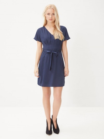 Yeni Sezon V Yaka Vero Moda Elbise Modelleri