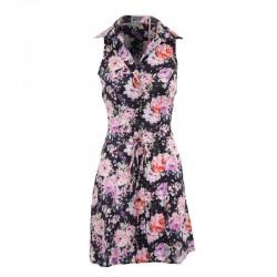 Çiçek Desenli Gömlek Elbise Modelleri 2016
